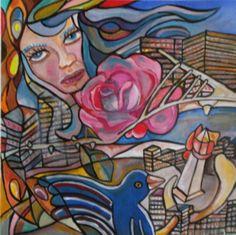 Pintura en Acrílico de Sandra V Rossi