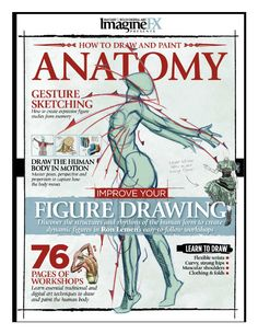 Imaginefx how to draw and paint anatomy vol 2
