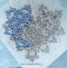 Teri Dusenbury (TATBit Tats) is giving us a peek into her tatting-design process. She throws around terms such as Golden Mean, Phi, and Fibonacci sequence, but don't let that scare you. Her d…