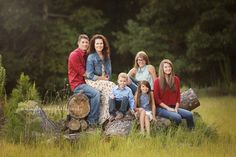 Family of 6 Photo Poses