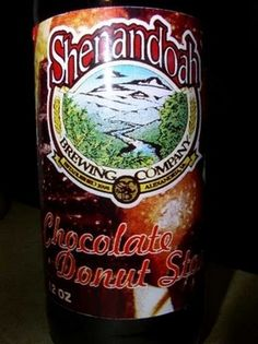 Chocolate Donut Beer - Washington, D.C. Shenandoah beer co