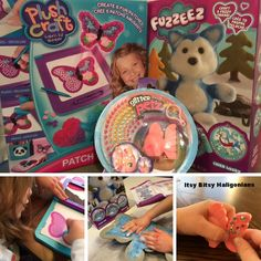 ORB factory Toy Review & GIVEAWAY: Fuzzeez, Plush Craft Patch Studio & Glitter Petz —