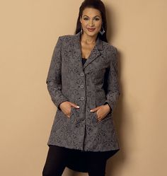 Butterick 6103 Misses' Jacket sewing pattern