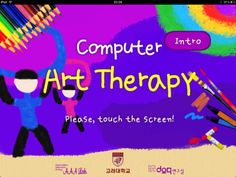 Art therapy app for iPad... FINALLY!