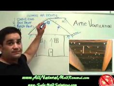 What causes mold to grow in attic: Ventilation of an attic.