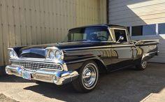 "Joe (@seattle_car_guy) on Instagram: ""1959 Ford Ranchero #fordranchero #ford #ranchero #truck #car #cars #carspotting #carsofinstagram…"""