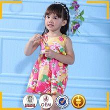 Vestidos doces e encantadoras para meninas 0-6 ano novos 100% meninas de algodão vestidos vestidos agradáveis para meninas