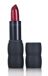 Læbestift af mærket Bare Escentuals, i produktlinken bareMinerals i farven Red Zin, synes den har en utrolig flot farve. Kan købes på CocoPanda.dk til 189kr