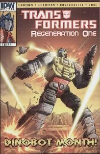 Transformers - Regeneration One #82 Andrew Wildman cover a ---> shipping is $0.01!!!