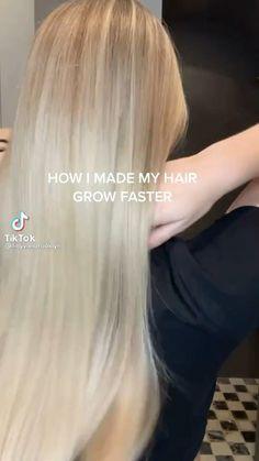 Hair Scarf Styles, Front Hair Styles, Curly Hair Styles, Natural Hair Styles, Hair Growing Tips, Haircuts Straight Hair, Diy Hair Mask, Grow Long Hair, Hair Videos