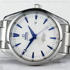 Omega Seamaster Aqua Terra Automatic Co-Axial XL 42.2mm Blued Markers 2502.33
