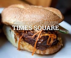 There's more to Times Square dining than Red Lobster's Cheddar Bay Biscuits! 10 best places to eat in Time Square
