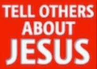 Tell others about Jesus. #KWMinistries