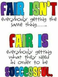 Talking about fairness ?