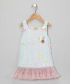 Blue Flower Tunic - Infant, Toddler & Girls by Little Mass on #zulily http://www.zulily.com/invite/mmorten237