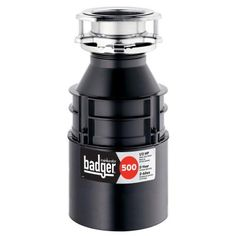 InSinkErator Badger 500-1/2 HP Continuous Feed Garbage Disposal-Badger 500.  I'm so over having a broken garbage disposal!
