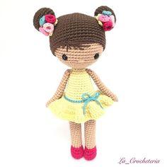 La pequeña Chloe os desea un feliz día 🌸👧🏻🌸 Ya casi casi viernes 🙂 Patrón propio para el #clubdelpatrondmc con Natura Just Cotton de @dmc_crafts  Para ser fan del club del patrón tenéis enlace en mi perfil.  #lacrocheteria #DMC #amano #amigurumi #amigurumis #artesanal #artesania #craft #crafter #crochet #craftastherapy #diy #ganchillo #handmade #hechoamano #hallazgosemanal #whp #instagram #tejer #cal #あみぐるみ #かぎ針編み #haken #uncinetto #rajutan #crochê  #patter #freepattern #freepattern…