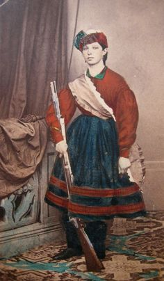 "vivandiere civil war costume | LIKE the things I LIKE!: Italian ""Vivandiera"""