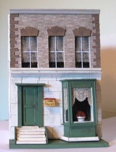 48th scale OOAK 'Antique' style Handmade Victorian House in Dolls & Bears, Dolls' Miniatures & Houses, Dolls' Houses   eBay!