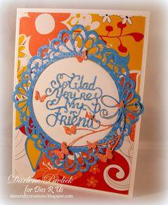 Dar's Crafty Creations: Glad You're My Friend