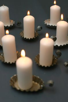Christmas calendar 2009: 18. Night candleholder