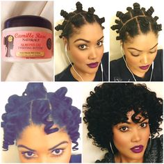 """5,877 Likes, 120 Comments - ProtectiveStyles (@protectivestyles) on Instagram: """"By @candicoatedcurls Pictorial of how I achieved my bantu knot out... I started on freshly washed…"""""""