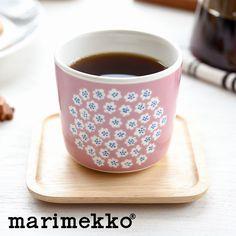 Marimekko (Marimekko) PUKETTI (Puckett) sublimate latte mugs pink Kitchenware, Tableware, Lassi, Latte Mugs, Kitchen Things, Cherry Tree, Vintage Dishes, Marimekko, Decoration Table