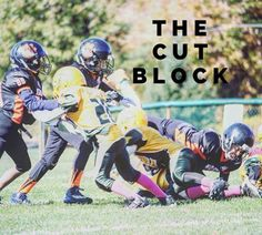 The Cut Block- Should it be legal or illegal? Tell us in the comments... #youthfootball #offense #blocking