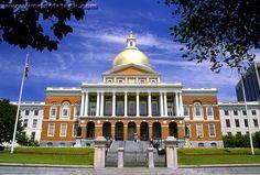 Capitol of Bostom Massachusetts
