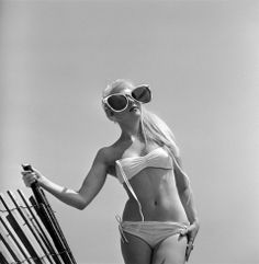 Model June Pickney, 1960.