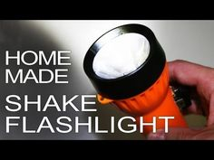 How To Make A Flashlight That Doesn't Need Replacement Bulbs Or Batteries Great Electromagnetic Flashlight Tutorial - Never spend money of batteries again for a flashlight #shtf #prepping #diy #survival