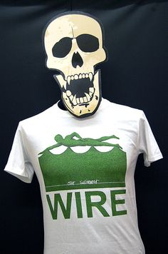 Wire - Our Swimmer - T-Shirt