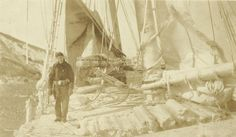 Not sure which ship or where this is taken, but it's COLD there! Look at all the ice on deck! Circa 1922-1926 found in Howard E Willis' Navy Book. Howard E Willis. This could be Bremerton, or after he left the Navy in 1926 and joined the Merchant Marines serving aboard the SS Finland from Sept to Oct 1926 and aboard the USLHT Tulip from Nov 1926 to Jan 1927.