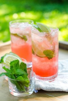 Campari Mojito Punch 1/4 ounce (about 4 large sprigs) fresh mint, plus additional for garnish 1 ounce lime juice 1 ounce white rum 1 1/2 ounce Campari Crushed ice 2 lime wedges 2 to 4 ounces good tonic water, such as Fevertree or Q Tonic