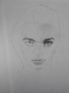 Second Year University of Westminster - Daphne Groeneveld. Pencil drawing fashion illustration by Sophie Hay