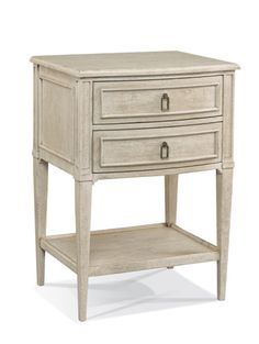 Hickory White - Abbey Nightstand - 585-71