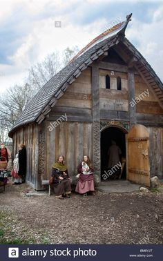 Image result for partitions in viking longhouses