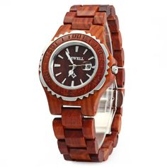 BEWELL Woman Watches 2016 Brand Luxury Wooden Quartz Watch Waterproof Luminous Hands Calendar Women Wristwatch relogio feminino