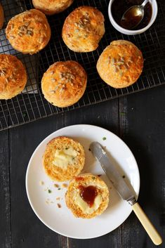 Cheese Scones with C