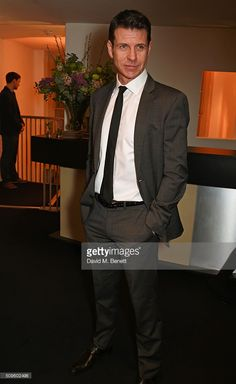 Cast member Lloyd Owen attends an after party celebrating the World...