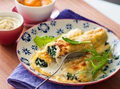 Avec les lectrices reporter de Femme Actuelle, découvrez les recettes de cuisine des internautes : Cannellonis aux épinards