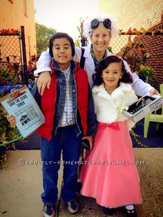 Fantastic Back to the Future Family Costume… Coolest Halloween Costume Contest