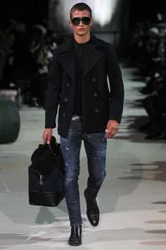 Dsquared² - Fall 2015 Menswear #milan #winter #catwalk #runway