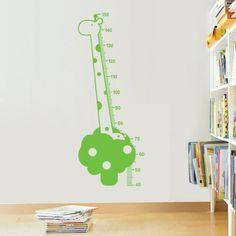 Giraffe height chart!