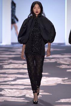 Vera Wang Fall 2013 Ready-to-Wear Fashion Show - Tian Yi