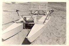 PATTINO o MOSCONE in legno anni 70