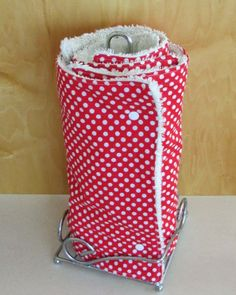 "DIY: Super Absorbent ""Reusable Paper Towels"" with connecting snaps!"
