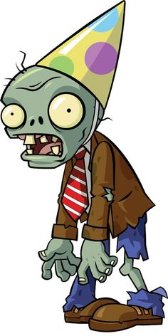 Zombie básico de fiesta de cumpleaños Plants Vs Zombies, Zombies Vs, Zombie Birthday Parties, Zombie Party, Birthday Cartoon, Boy Birthday, Cake Birthday, Birthday Ideas, Birthday Gifts