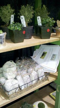 Janit Calvo displays Authentic Haven Brand at North West Flower & Garden Show 2012