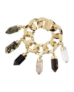 Point Crystal Charm Bracelet by Givenchy at Bergdorf Goodman.